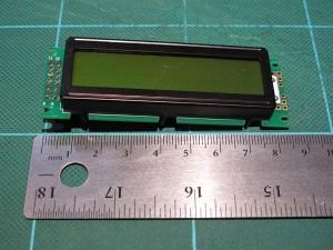 SC1602互換液晶ディスプレイ