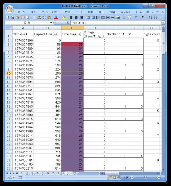 Excel上で計算