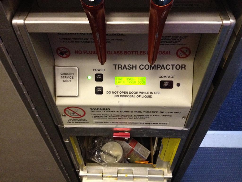 ゴミ圧縮機 (飛行機)