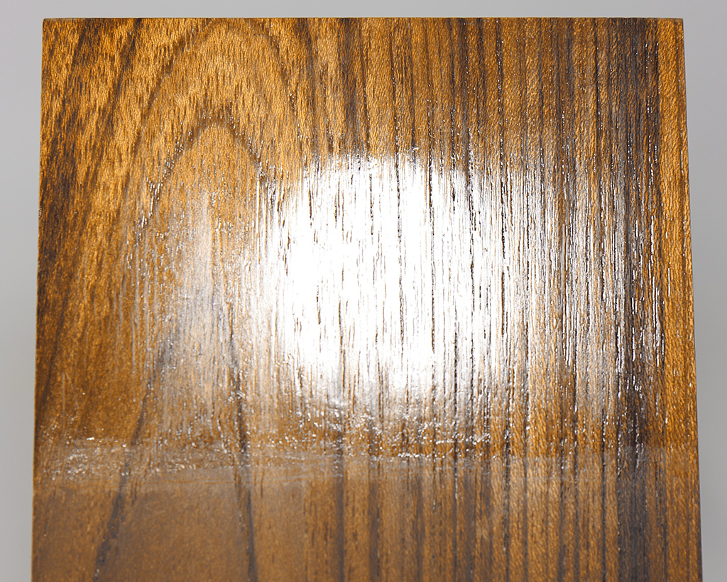 Lacquer on Teak