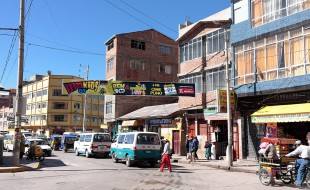 Townscape of Puno