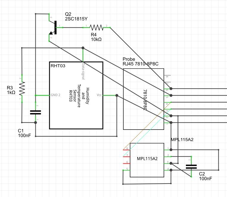 Circuit for Probe